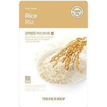 Real Nature Mask Sheet Rice by The Face Shop