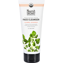 Moisturizing Face Cleanser - Watercress & Cucumber by Nourish Organic