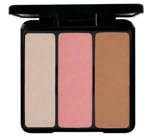 Blush Trio - Bronzing Highlighter Trio by eve pearl