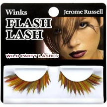 Winks Flash Lash Wild Party Lashes 80's Psychedelic by jerome russell