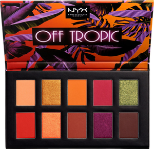 Off Tropic Shadow Palette - Shifting Sand by NYX Professional Makeup