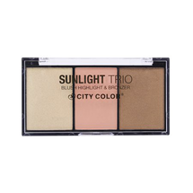 Sunlight Trio Blush, Highlight & Bronzer by city color