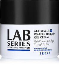 Age Rescue Water Charged Gel Cream by lab series skincare for men