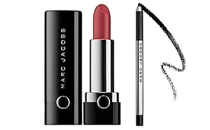 Marc Jacobs Lipstick & Eyeliner Sephora by Marc Jacobs Beauty