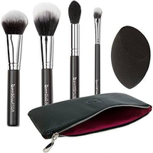 Pro Contour & Highlighting Makeup Brush Set with Case by beauty junkees