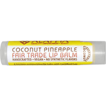 Fair Trade Lip Balm Coconut Pineapple by everyday coconut