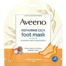 Repairing Cica Foot Mask by Aveeno