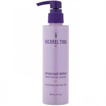 Charcoal Detox Deep Pore Gel Cleanser by Michael Todd Beauty