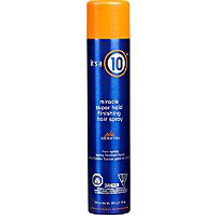 Free Miracle Finishing Spray Wany Professional Haircare Hairspray by It's A 10