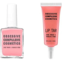 Lip Tar And Nail Polish Set - Femme by obsessive compulsive