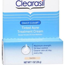 Daily Clear Tinted Acne Treatment Cream by clearasil