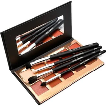 Fuego Eyeshadow and Brush 6-Piece Kit by Crown Brush