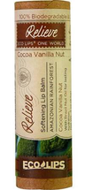 Relieve One World Softening Lip Balm Cocoa Vanilla by Ecolips
