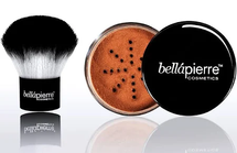 Mineral Foundation And Kabuki Brush Set by Bellapierre