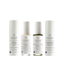 Normal + Sensitive Organic Skin Care Travel Set by Intelligent Nutrients