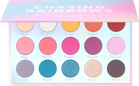 Chasing Rainbows Eyeshadow Palette by Colourpop #2