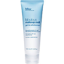 Fabulous Makeup Melt Gel To Oil Cleanser by bliss