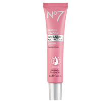 Restore & Renew Face & Neck Multi Action Serum by no7
