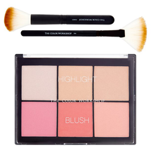 Highlight Blush Palette by the color workshop