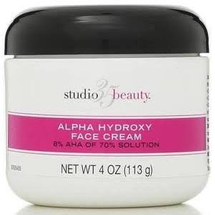 Face Cream With 7.8 Alpha Hydroxy Aha by Studio 35