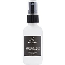 Coconut + Pear Refreshing Mineral Mist by little barn apothecary