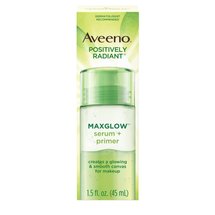 Positively Radiant Maxglow Serum + Primer by Aveeno