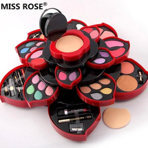 Plum Blossom Cosmetic Case Makeup Kit by miss rose
