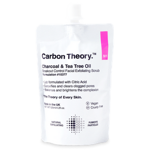 Charcoal & Tea Tree Oil Breakout Control Facial Exfoliating Scrub by Carbon Theory
