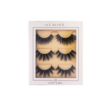 City Girl Eyelash Trio by Ace Beauté