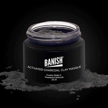 Activated Charcoal Clay Masque by Banish