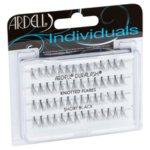 Duralash Knotted Double Flares Individual Lashes Long Black by ardell