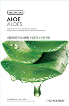 Real Nature Mask Sheet Aloe by The Face Shop