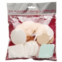 Assorted Cosmetic Sponges by precision