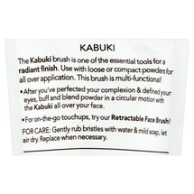 Beauty On The Go Kabuki Makeup Brush by essential tools