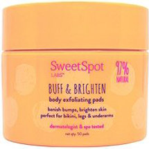 Buff Brighten Body Exfoliating Pads by SweetSpot Labs