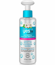 Cotton Micellar Cleansing Water by yes to