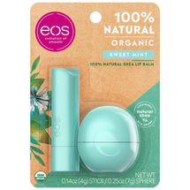 sweet mint stick and sphere lip balm by eos