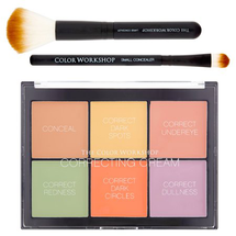 Correcting Cream Palette by the color workshop