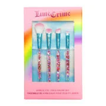 10th Birthday Four-Piece Brush Set by Lime Crime