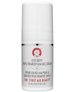 Eye Duty Triple Remedy A.M. Gel Cream by First Aid Beauty