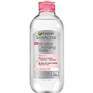 SkinActive Micellar Cleansing Water All-in-1 Cleanser & Makeup Remover by garnier