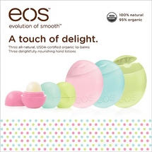 Body Lotion And Cucumber Melon Visibly Soft Lip by eos
