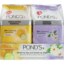 Exfoliating And Evening Wet Cleansing Towelettes by ponds