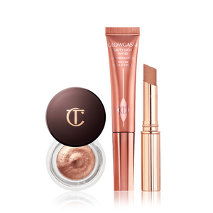 The Gorgeous, Glittering Makeup Look by Charlotte Tilbury