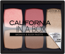 California In A Box Bronzer & Blush Palette by Catrice Cosmetics