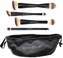 5-Piece Deluxe Dual Brush Kit And Satchel by eve pearl