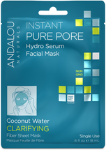 Instant Pure Pore Facial Sheet Mask by andalou naturals
