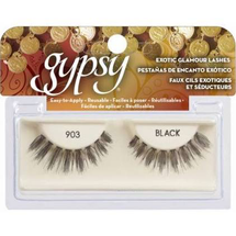 Exotic Glamour Lashes 901 Black 10 Pr by gypsy