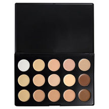 15 Color Concealer Palette Cream Base by OPV Beauty
