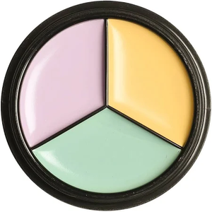 Corrector Tri-Pot - Yellow/ Mint/ Lilac by ofra